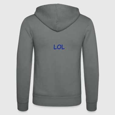 Lol LOL - Unisex Hooded Jacket by Bella + Canvas