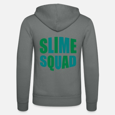 Slime slime squad - Unisex Hooded Jacket by Bella + Canvas