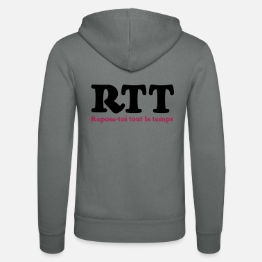 All The Rest RTT - Rest all the time - Unisex Zip Hoodie