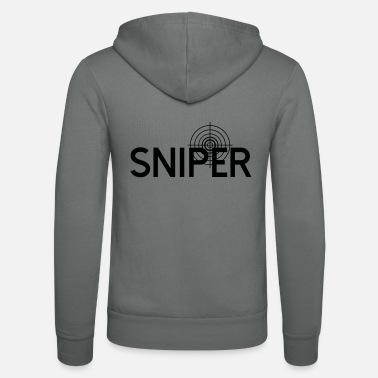 Sniper Sniper / Sniper - Unisex Hooded Jacket by Bella + Canvas