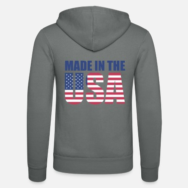 Usa Made in USA - Veste à capuche unisexe