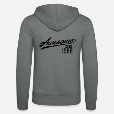 Since Awesome Since 1988 - Luvjacka unisex från Bella + Canvas