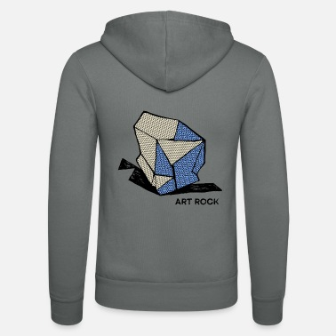 Cool ART ROCK No 1 color - Unisex Zip Hoodie