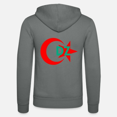 Algeria - Unisex Hooded Jacket by Bella + Canvas