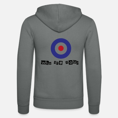 Royal Air Force Who are you? - Unisex Zip Hoodie