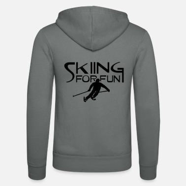 Ski Resort ski resort skies ski area skiing - Unisex Zip Hoodie