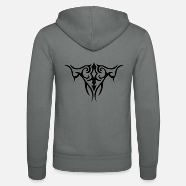 Bodyart TRIBAL TATTOO TWO - Unisex Zip Hoodie