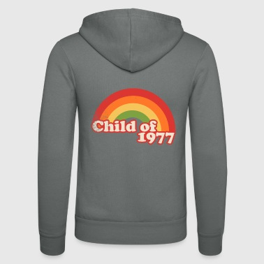 child of 1977 - Unisex Hooded Jacket by Bella + Canvas