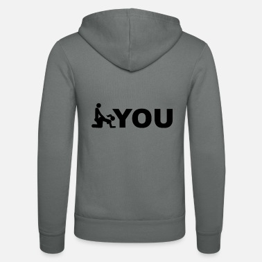 Fuck You Fuck You Pun (wordplay) - Zip hoodie unisex