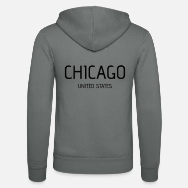 Chicago Chicago - Unisex Bella + Canvas -hupputakki