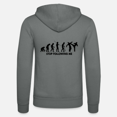 Evolution Stop Following Me - Unisex Kapuzenjacke