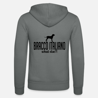 Italiano Bracco Italiano whatelse - Felpa con cappuccio di Bella + Canvas