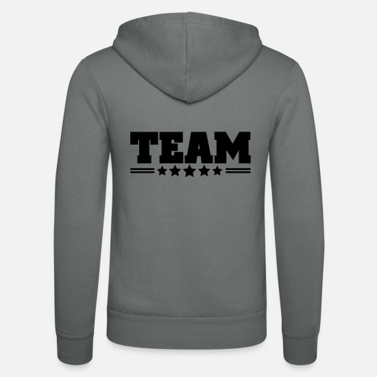Team Sweat-shirts - team - Veste à capuche unisexe gris