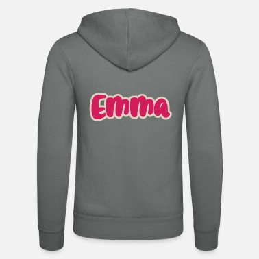 First Name Emma name first name - Unisex Zip Hoodie