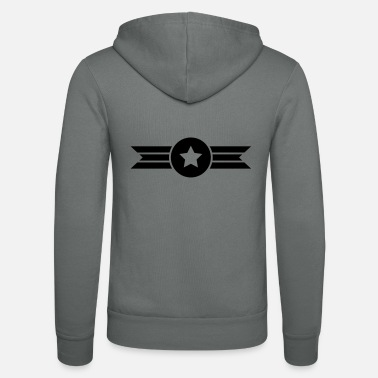 flying star - Unisex Zip Hoodie