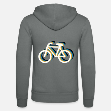 Bicycling Bicycle bicycle - Unisex Zip Hoodie