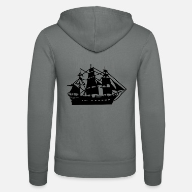 Pirate Ship pirate ship boat pirate pirate ship ship skull1 - Unisex Zip Hoodie