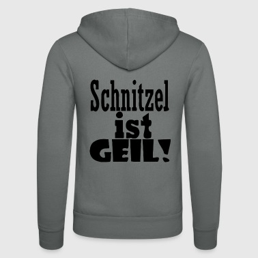 Schnitzel is cool - Unisex Hooded Jacket by Bella + Canvas
