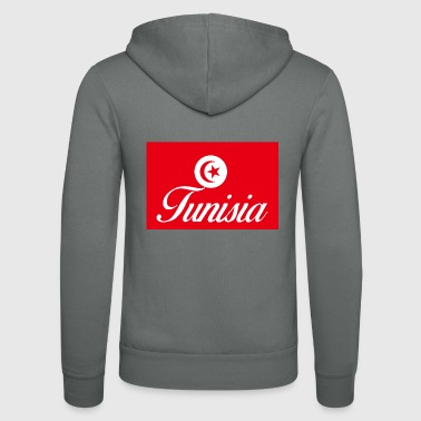 Tunisia - Unisex Hooded Jacket by Bella + Canvas