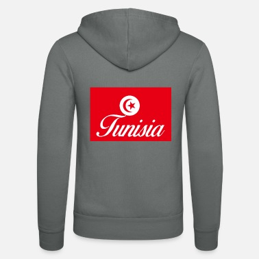 Tunisia Tunisia - Unisex Hooded Jacket by Bella + Canvas