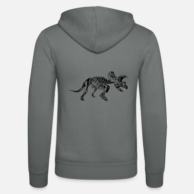 Triceratops Triceratops _ dinosaurs - Unisex Hooded Jacket by Bella + Canvas