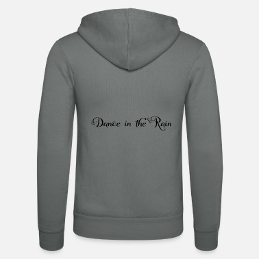 Beautiful Dance in the Rain - Unisex Zip Hoodie