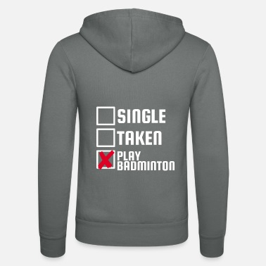 Award Badminton Shuttlecock Gift Single Awarded Game - Unisex Zip Hoodie