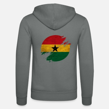 Kumasi Ghana district - Unisex Zip Hoodie
