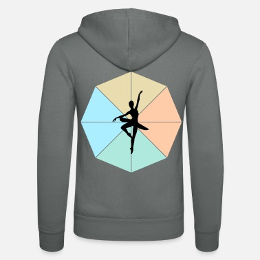 Ballerina ballerina - Unisex Hooded Jacket by Bella + Canvas