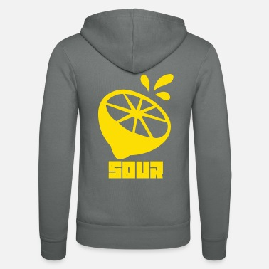Sour Sour Lemon sour lemon - Unisex Zip Hoodie