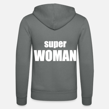 Superwoman superwoman - Unisex hættejakke