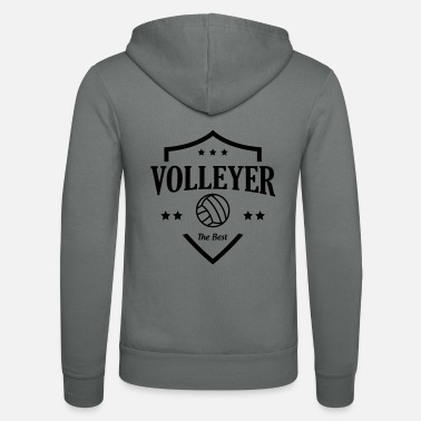 Volleyer Volleyer - Unisex Zip Hoodie