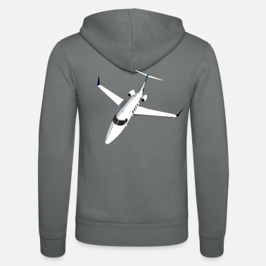 Jet Private Jet Airplane Jet Jet - Unisex zip hoodie