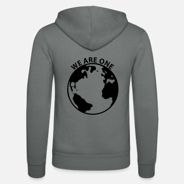 We We Are One - Earth - Unisex Kapuzenjacke