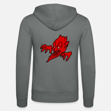 Devil Male Red devil - Unisex Zip Hoodie