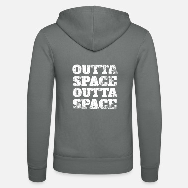 Saucer Outta Space Outta Space - Unisex Zip Hoodie
