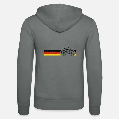 National Cykel nationale farver National Germany Gift - Unisex hættejakke