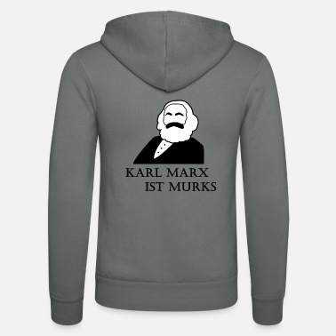 Karl Karl Marx is botch - Unisex Zip Hoodie
