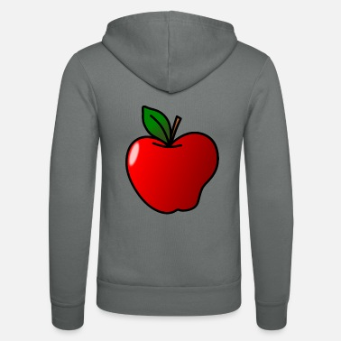 Clipart Apple clipart - Unisex hoodie van Bella + Canvas