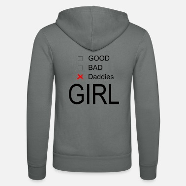 Girl Daddy's Girl Choose - Unisex Zip Hoodie