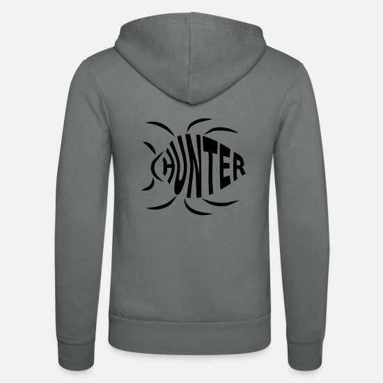 Coder Tröjor & hoodies - Bug Hunter - Zip hoodie unisex grå