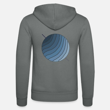 Blue Collar Blue Planet - Zip hoodie unisex