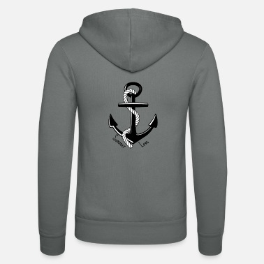 Anchor Summer Love - Summer love - Unisex Zip Hoodie