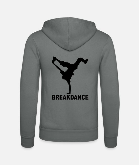 Breakdance Tröjor & hoodies - breakdance - Zip hoodie unisex grå