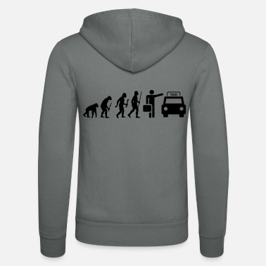 Taxi Driver Evolution Taxi Driver Taxi driver - Unisex Hooded Jacket by Bella + Canvas
