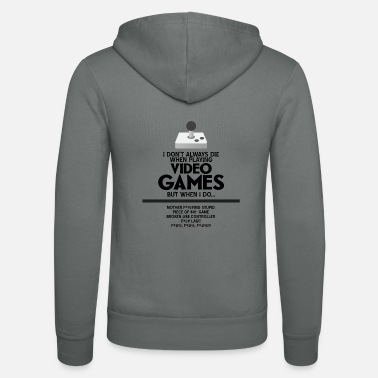 Video VIDEO-GAMES - Unisex hoodie van Bella + Canvas