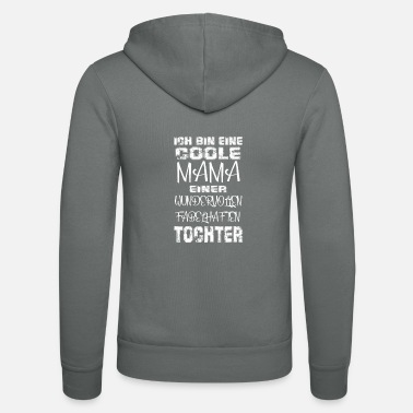Cool Mom Daughter Gift Idea Mother's Day - Unisex Zip Hoodie