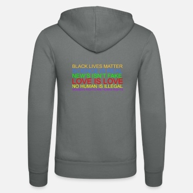 Human Rights Human Rights - Unisex Zip Hoodie