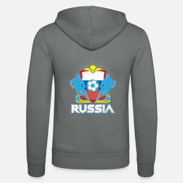 Officialbrands World Soccer Russia / Football Love T-skjorte - Unisex hettejakke