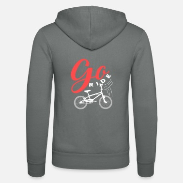 Hobby Bicycle gift hobby sport women's bike - Unisex Zip Hoodie